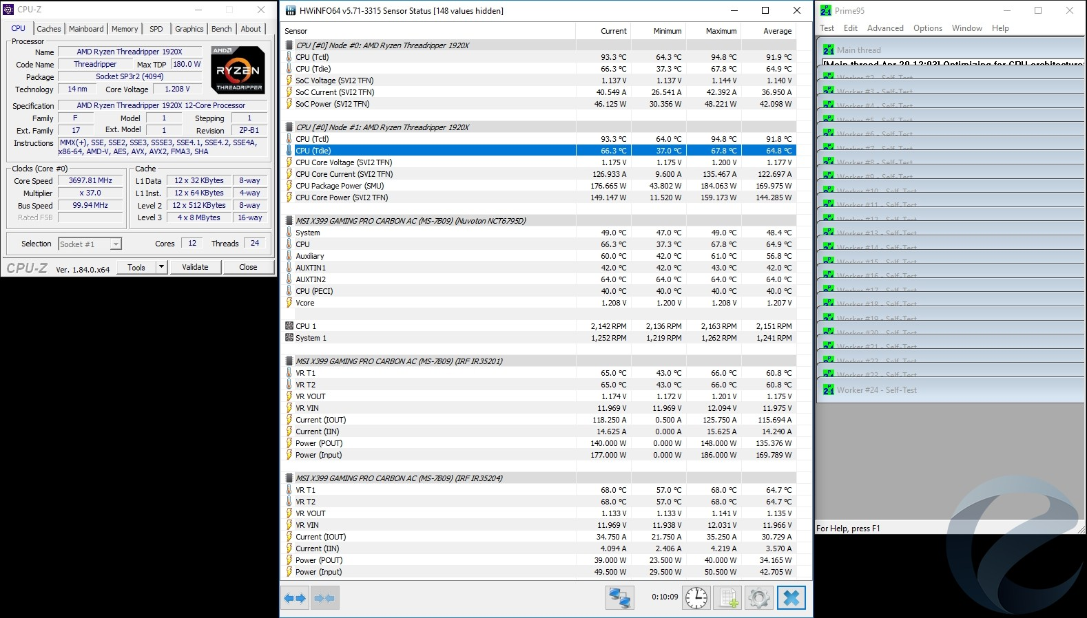 Обзор и тест кулера PCCooler GI-R68X для HEDT-платформ AMD