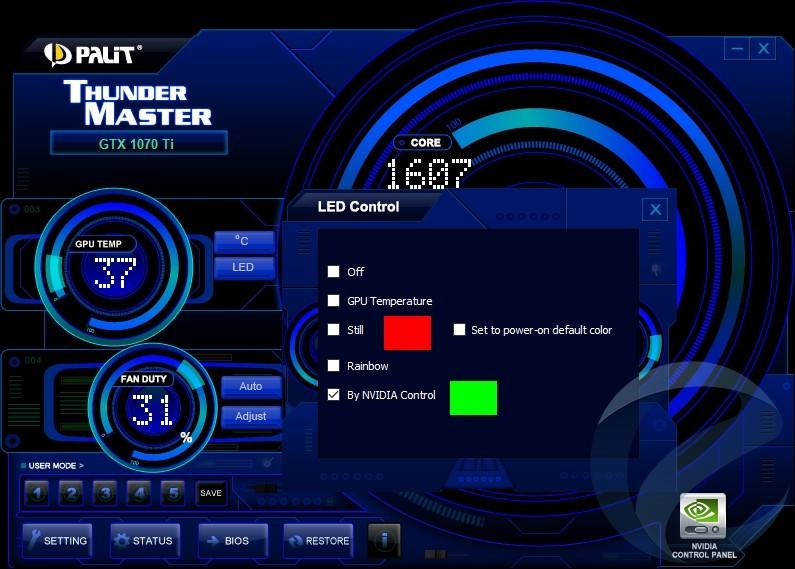 Обзор и тестирование видеокарты Palit GeForce GTX 1070 Ti