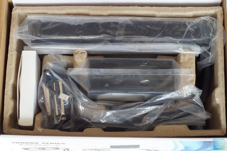 Система жидкостного охлаждения SilverStone TD02-E. Упаковка и комплектация