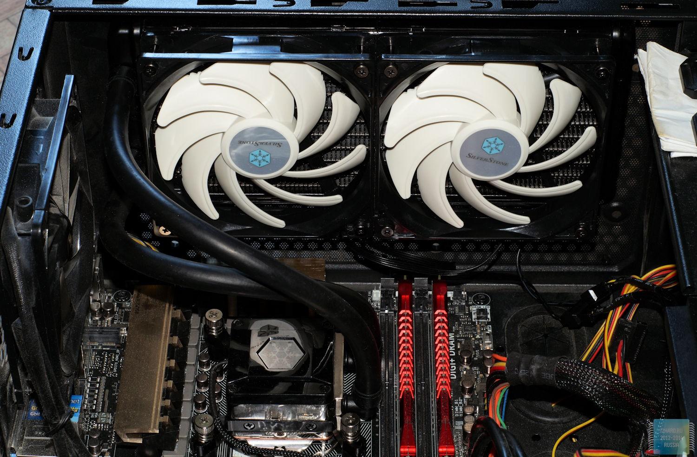 Система жидкостного охлаждения SilverStone TD02-E