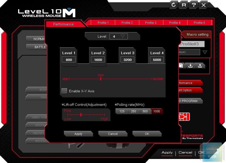 Набор Tt eSports Commander Combo KB-CMC-PLBLRU-01