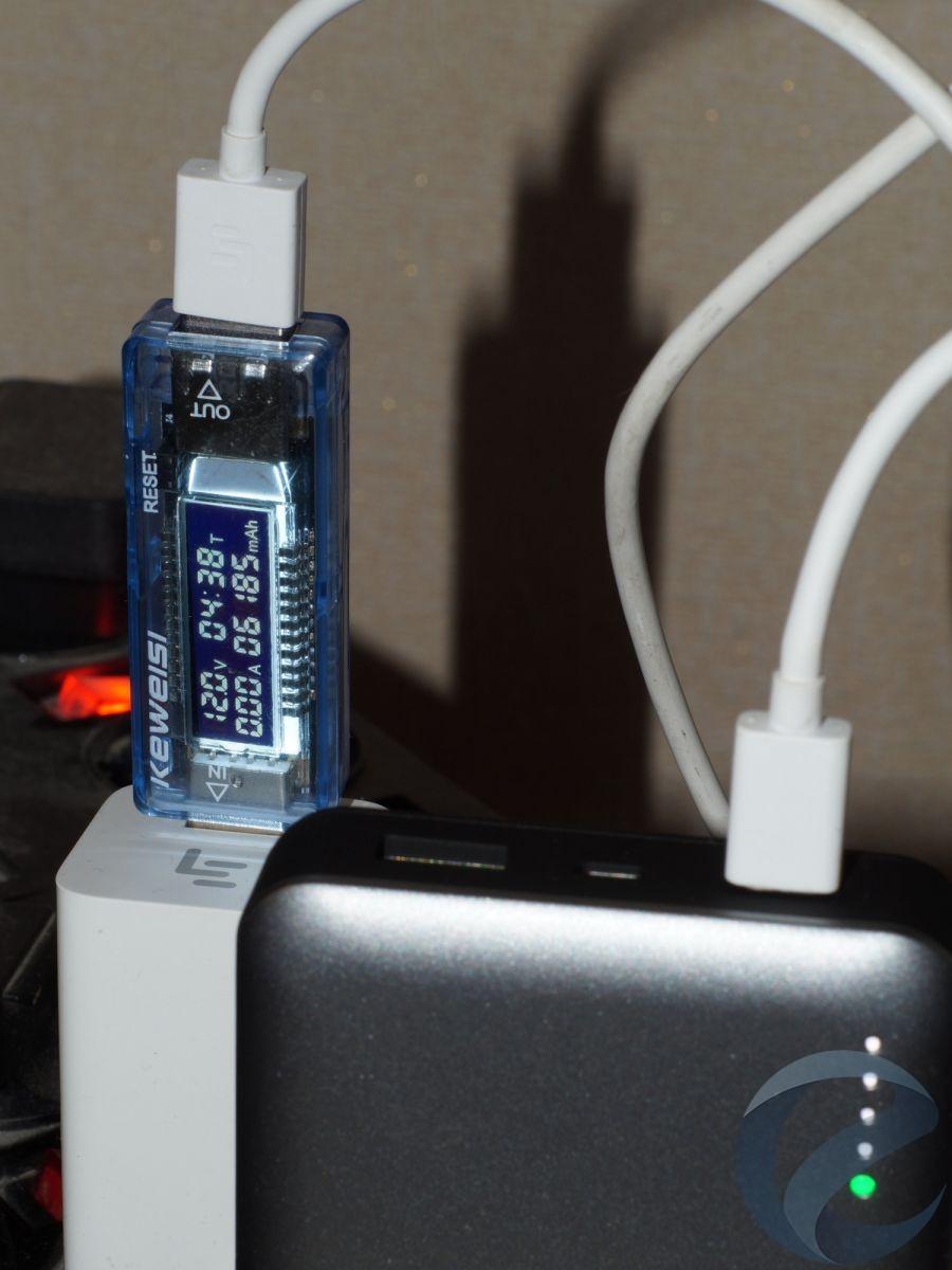 Использование внешнего аккумулятора Deppa NRG Turbo 15000