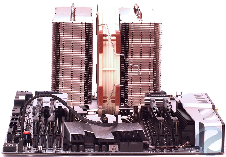 Тестовый стенд с материнской платой MSI X99A XPOWER GAMING TITANIUM