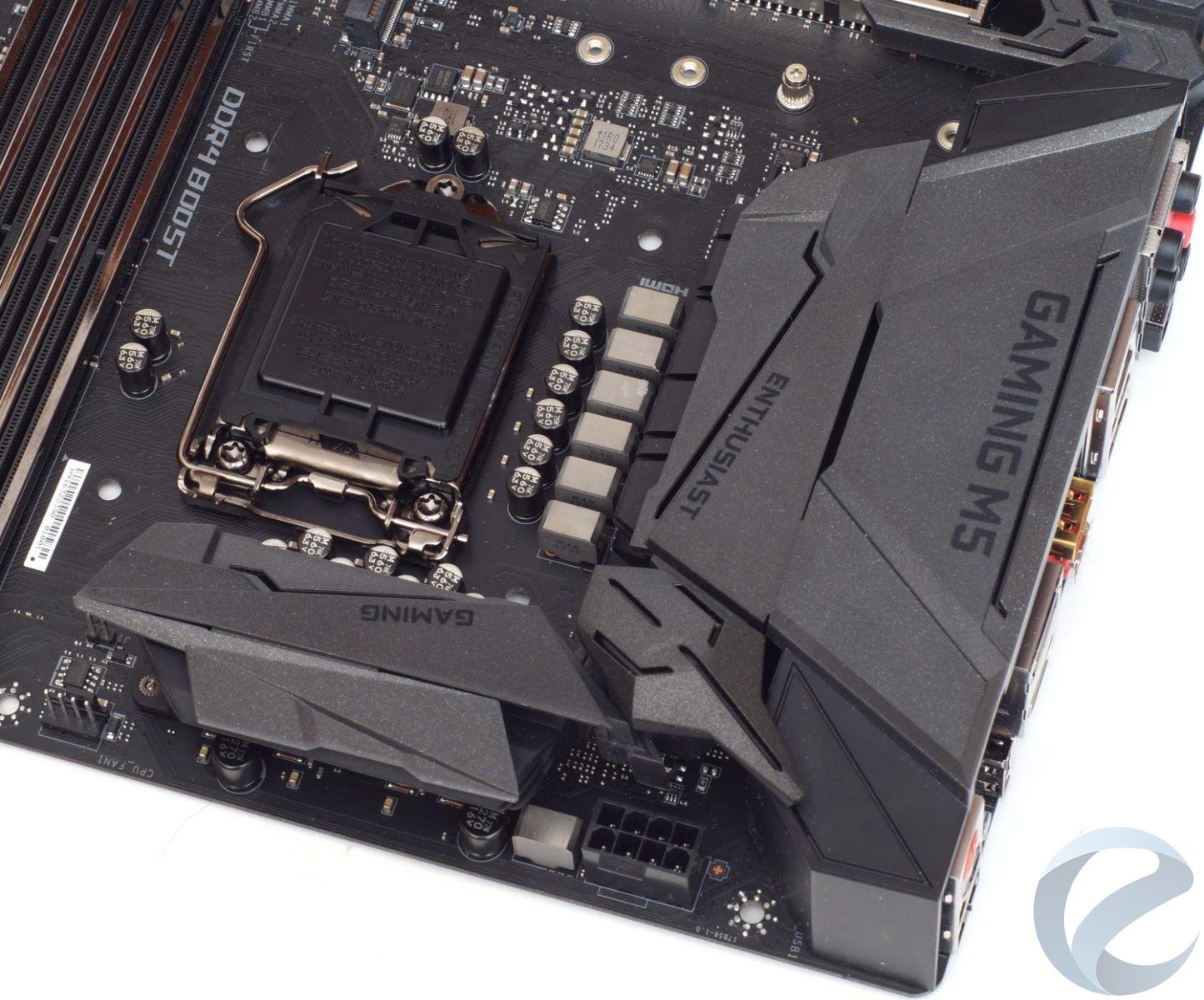 Внешний вид и особенности материнской платы MSI Z370 GAMING M5