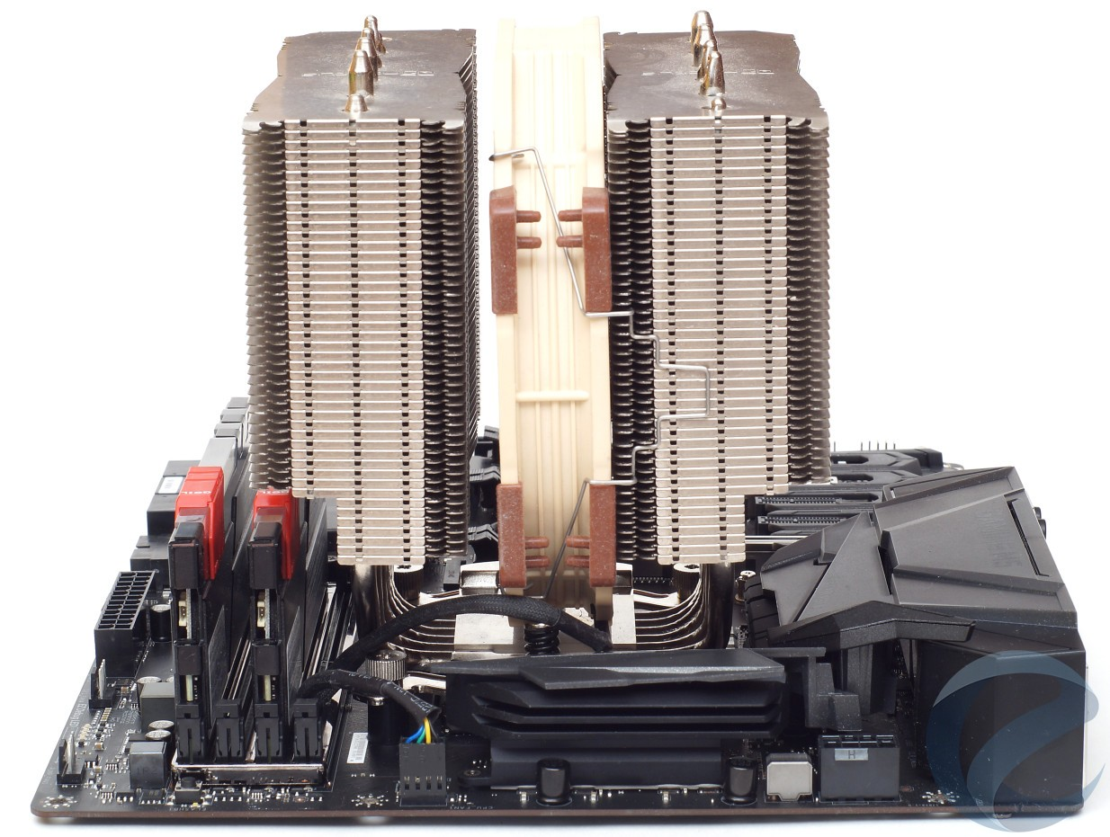 Тестовый стенд с материнской платой MSI Z370 GAMING M5
