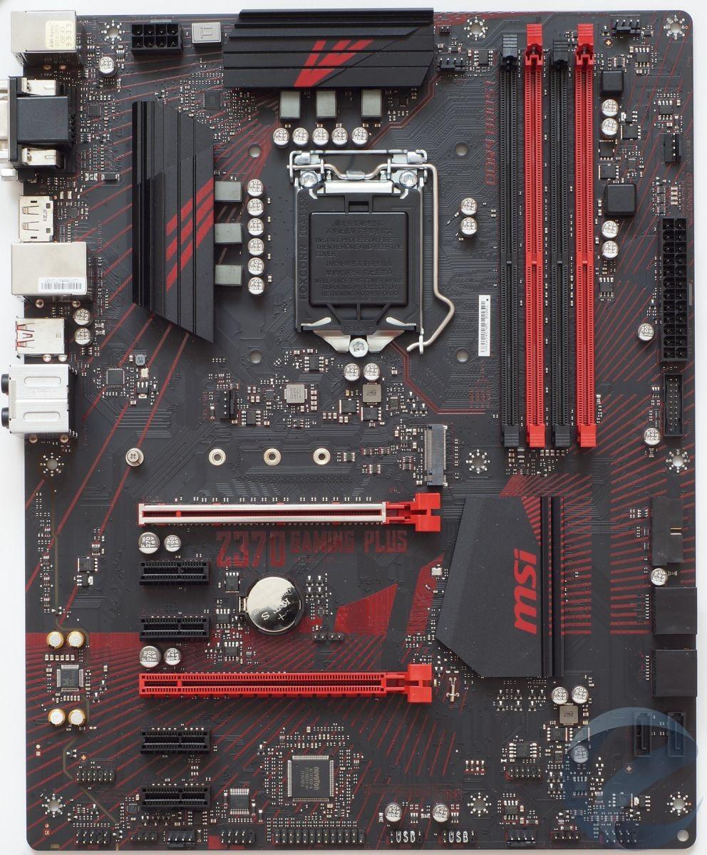 Внешний вид и особенности материнской платы MSI Z370 GAMING PLUS