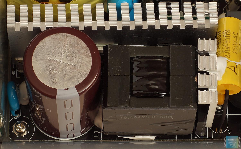 Строение блока питания SilverStone Strider Platinum ST85F-PT (850 Вт)