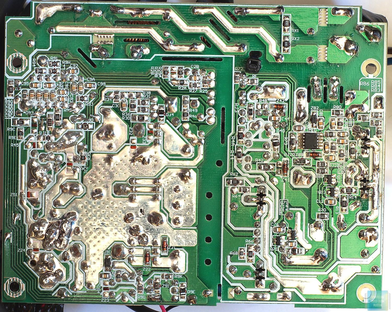 Строение блока питания be quiet! SFX Power 2 400W
