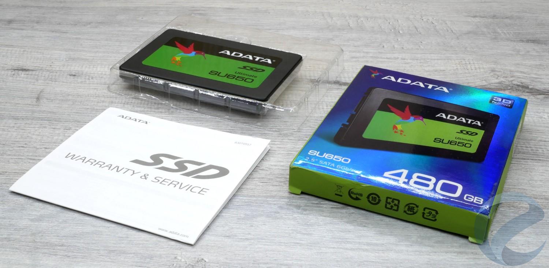 Обзор и тест SSD ADATA SU650 480 Гб