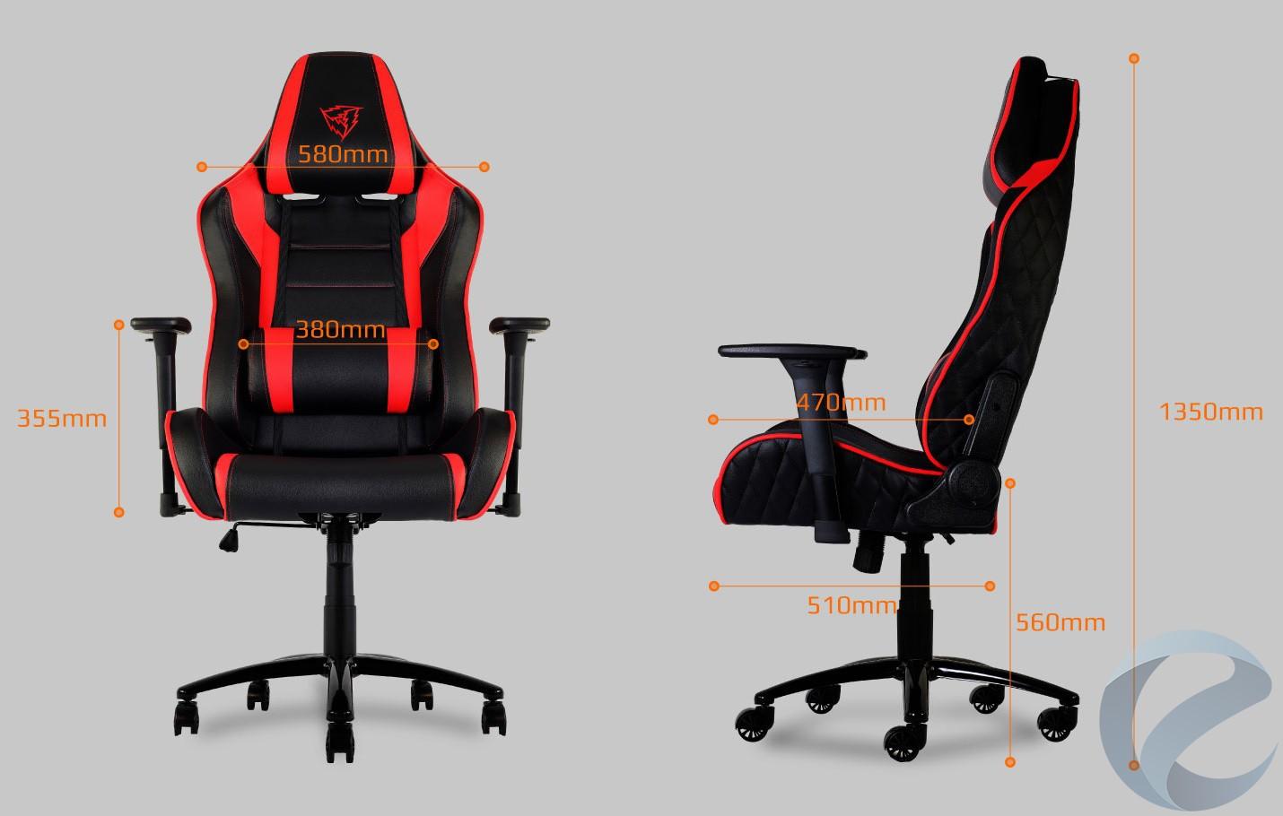 Внешний вид игрового кресла ThunderX3 TGC30