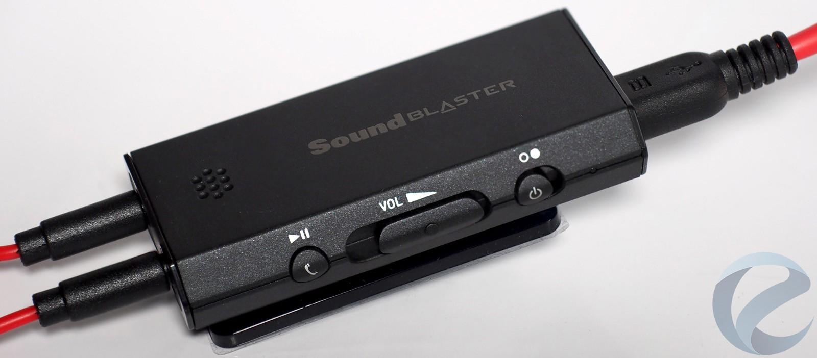 Обзор Creative Sound Blaster E1  Компактный усилитель для наушников