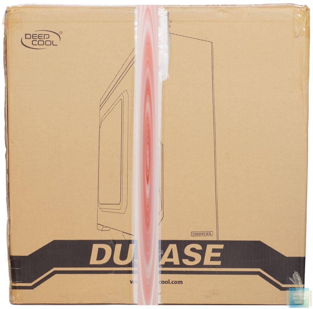 Упаковка и комплектация корпуса Deepcool DUKASE