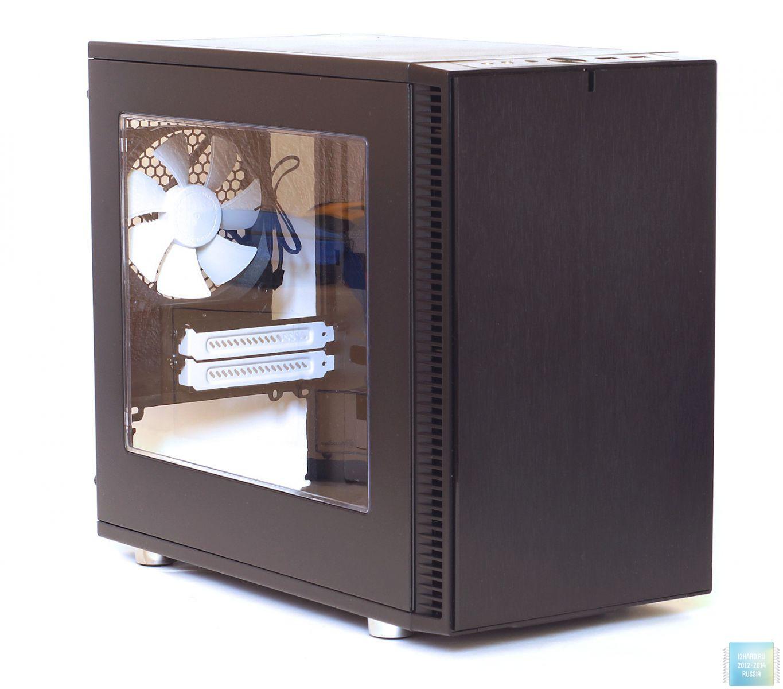 Внешний вид и организация корпуса Fractal Design Define Nano S Window