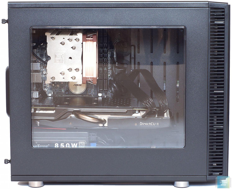 Сборка в корпусе Fractal Design Define Nano S Window