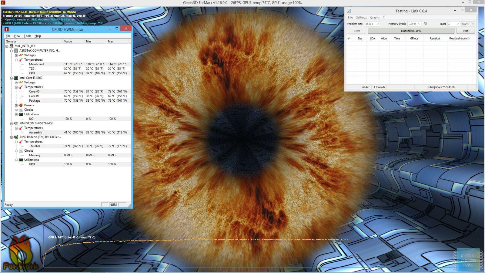 Тестовый стенд и методика тестирования корпуса Fractal Design NODE 202