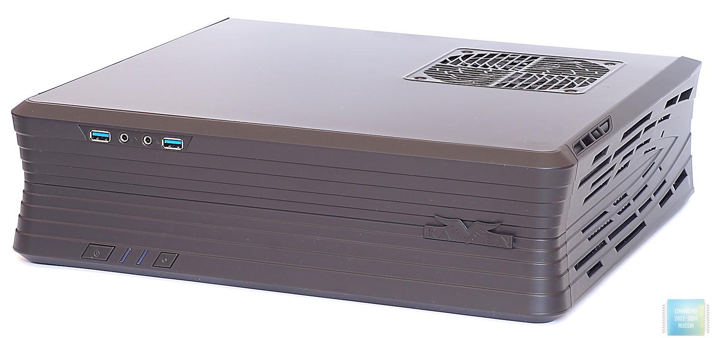 Внешний вид и организация корпуса SilverStone RAVEN RVZ01-E