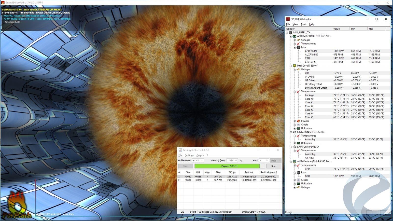 Тестовый стенд и методика тестировани Mid-Tower корпуса Thermaltake View 37 RGB Edition
