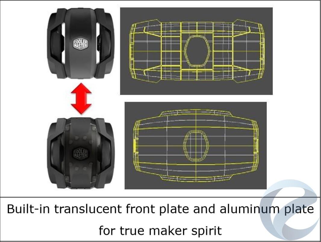 Внешний вид кулера Cooler Master MasterAir Maker 8