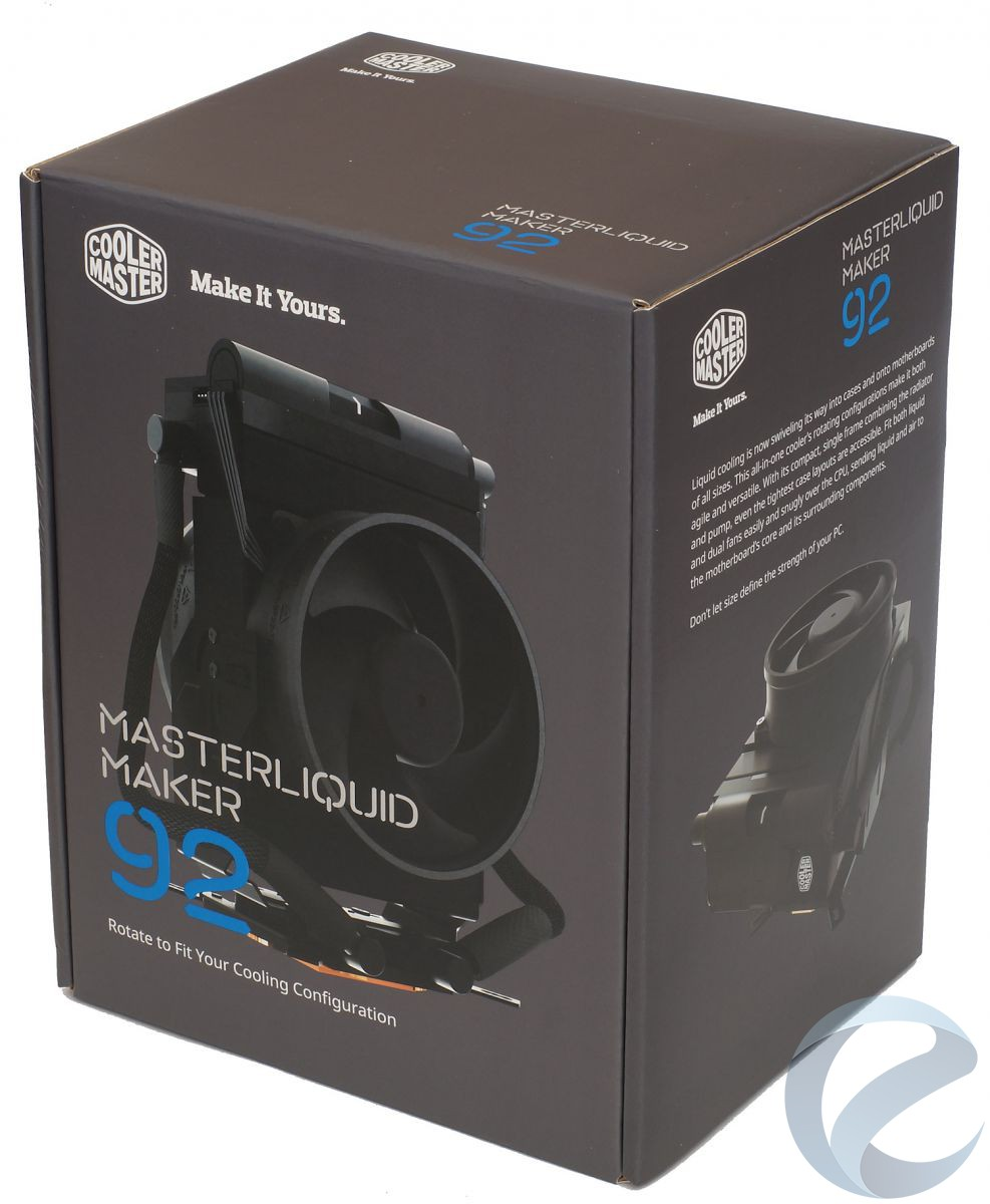 Упаковка и комплектация СЖО Cooler Master MasterLiquid Maker 92