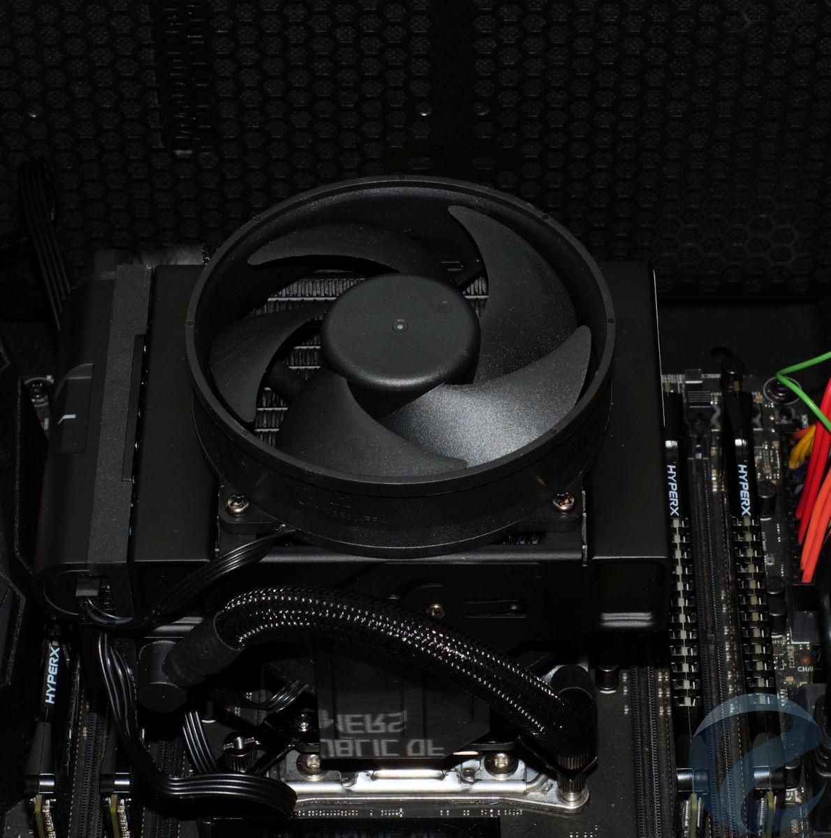 Процесс установки СЖО Cooler Master MasterLiquid Maker 92
