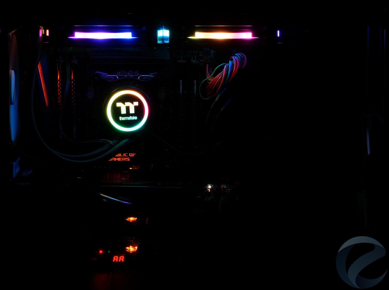 RGB подсветка СЖО Thermaltake Floe Riing RGB 280