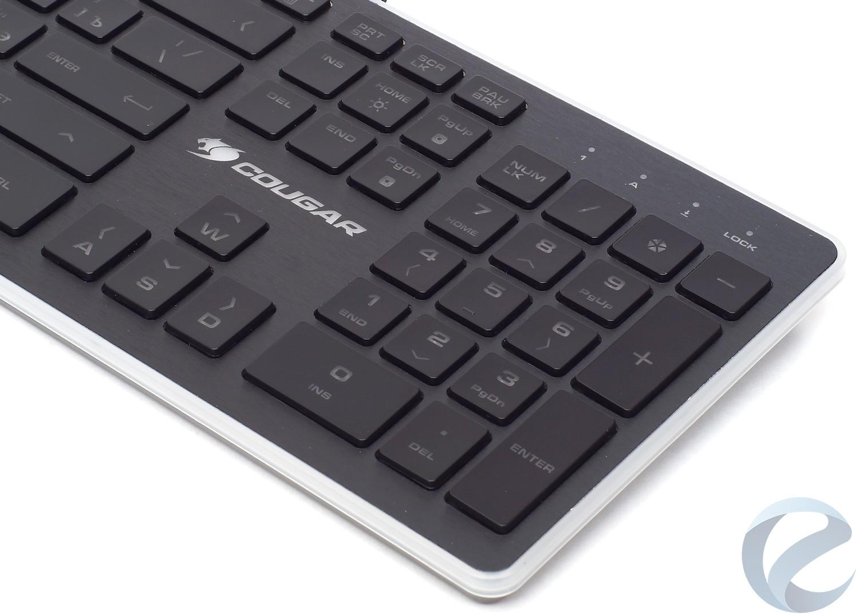 Внешний вид игровой клавиатуры COUGAR Vantar