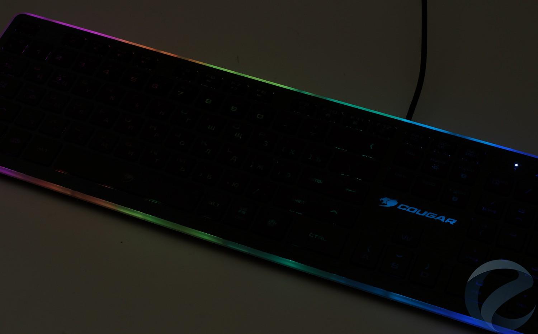 Подсветка игровой клавиатуры COUGAR Vantar