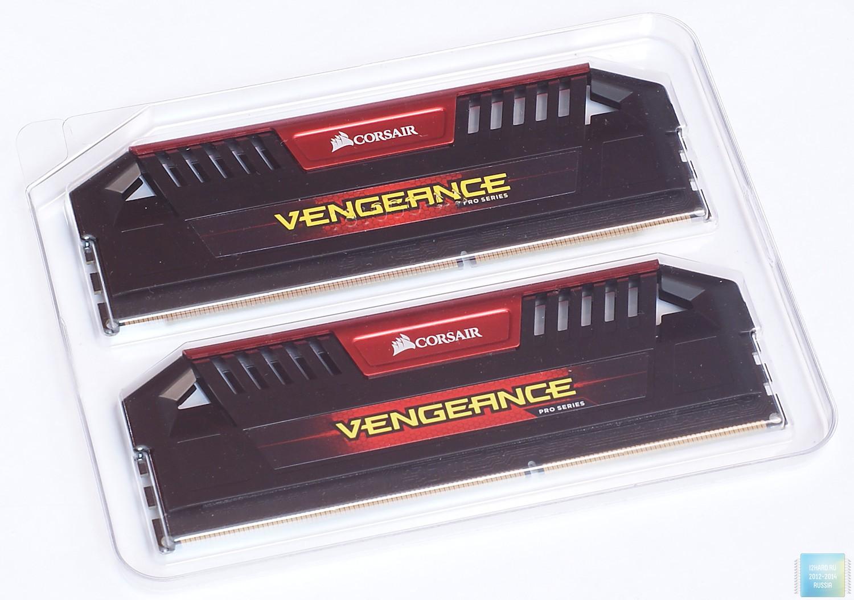 Упаковка и содержимое комплекта оперативной памяти Corsair Vengeance Pro 8GB DDR3L (CMY8GX3M2C2133C11R)