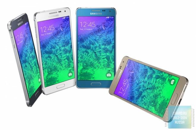 Samsung официально представил два полностью металлических смартфона