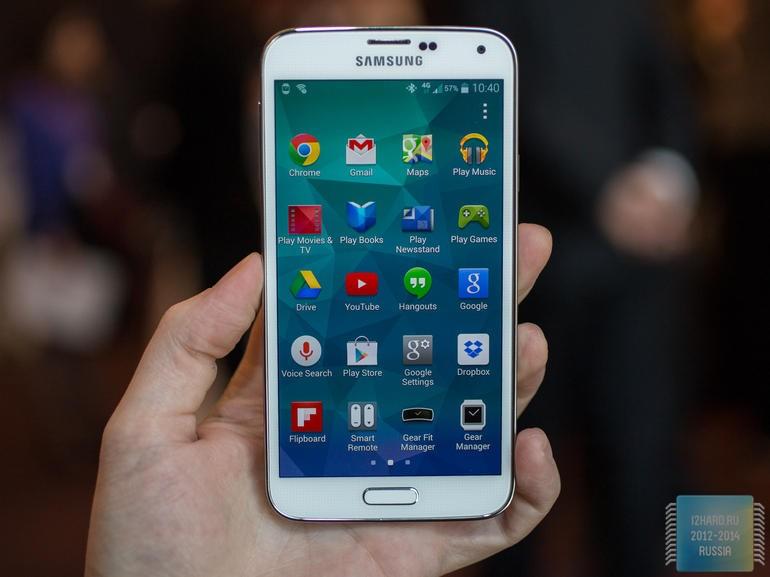 Galaxy S5 наконец получил Android Lollipop